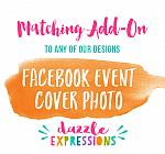 ADD ON - Facebook Event Cover Photo