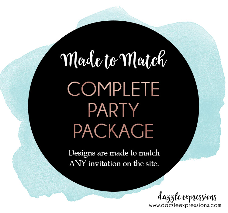 Complete Party Package - 25 items!