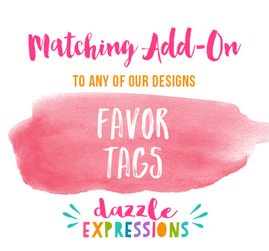 ADD ON Favor Tags