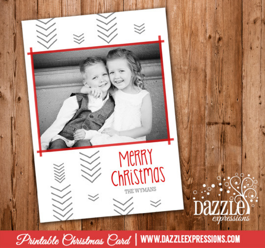 2014 Collection - Christmas Card 10 - Printable