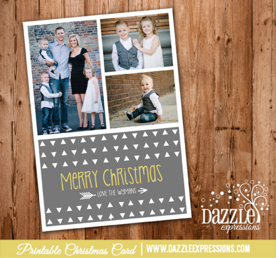 2014 Collection - Christmas Card 11 - Printable