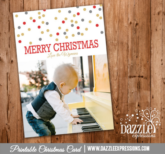 2014 Collection - Christmas Card 12 - Printable