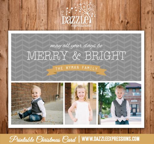 2014 Collection - Christmas Card 13 - Printable