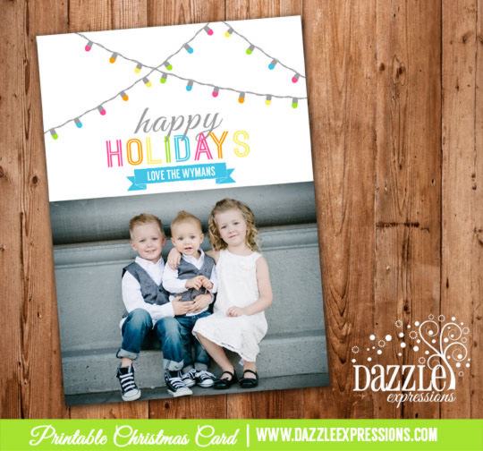 2014 Collection - Christmas Card 15 - Printable