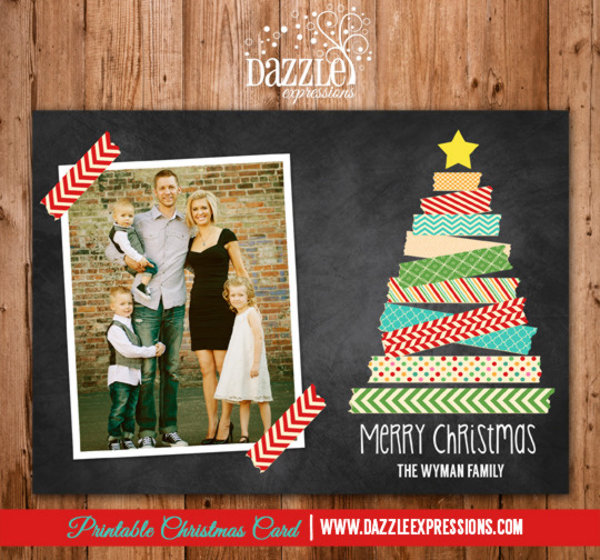 2014 Collection - Christmas Card 18 - Printable