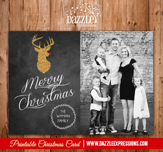 2014 Collection - Christmas Card 19 - Printable