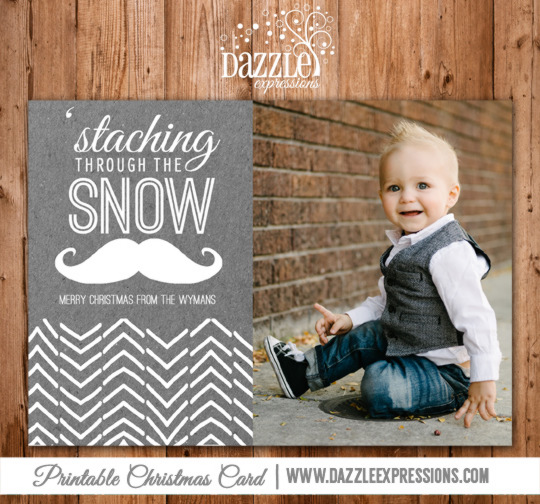 2014 Collection - Christmas Card 2 - Printable