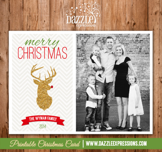 2014 Collection - Christmas Card 3 - Printable