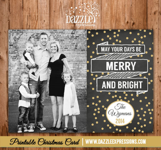 2014 Collection - Christmas Card 5 - Printable