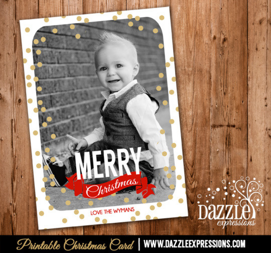 2014 Collection - Christmas Card 7 - Printable