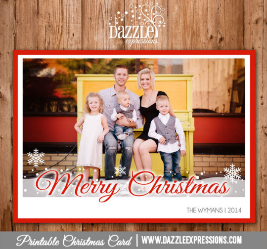 2014 Collection - Christmas Card 9 - Printable