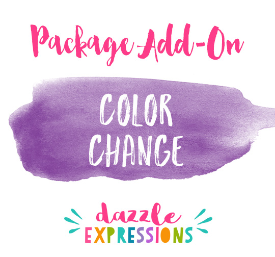 Color Change on Party Package