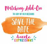 ADD ON Save the Date