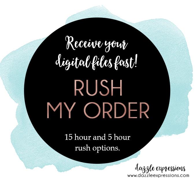 1 - RUSH My Order