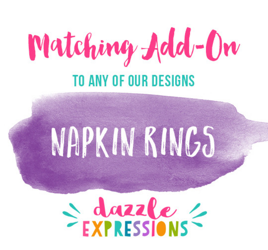 ADD ON Napkin Rings