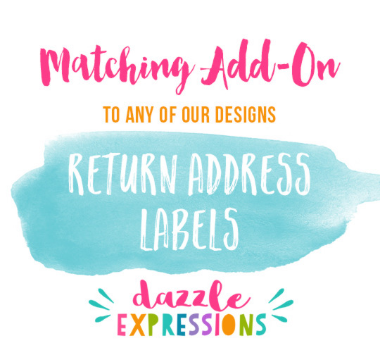 ADD ON Return Address Labels