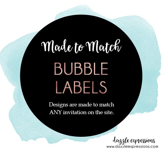 Bubble Labels