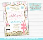 Ballet and Nutcracker Invitation 2 - FREE Thank You Card