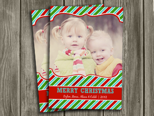 Christmas Card 10 - Printable