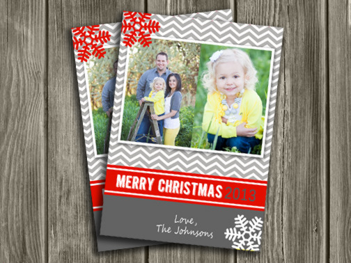Christmas Card 11 - Printable