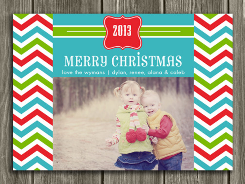 Christmas Card 3 - Printable