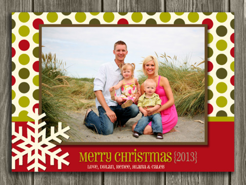 Christmas Card 5 - Printable