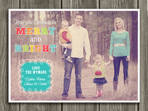 Christmas Card 8 - Printable