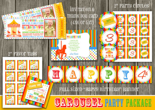 Carousel Complete Party Package