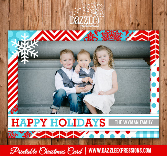 2014 Collection - Christmas Card 16 - Printable