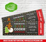 Cookie Exchange Party Ticket Invitation 1