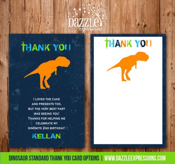 Printable Dinosaur Birthday Invitation Tyrannosaurus T