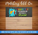 ADD ON - Goodie Bag Topper Labels
