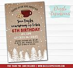 Hot Cocoa and Cookies Invitation - FREE thank you card