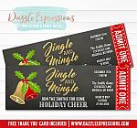 Jingle and Mingle Holiday Party Invitation