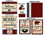 Lumberjack Complete Party Package - Printable