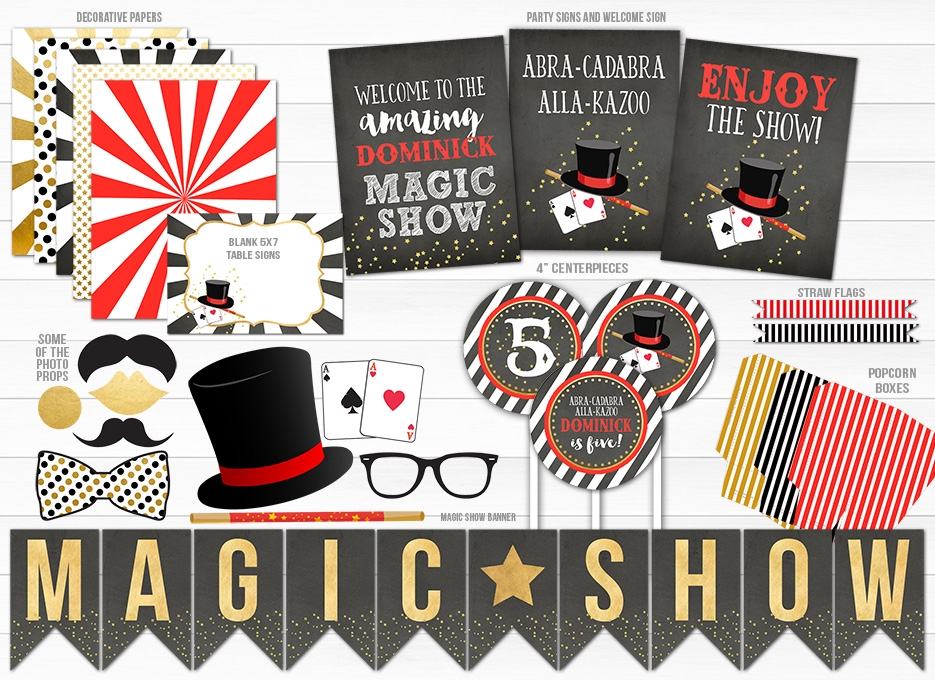 Magic Show Complete Party Package