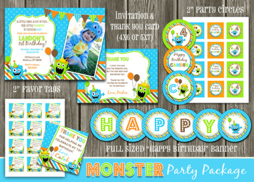 Monster Complete Party Package