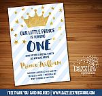 Prince Invitation 1 - FREE thank you card