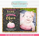 Pumpkin Chalkboard Birthday Invitation 7 - FREE Thank You Card included