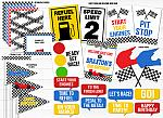 Race Car Complete Party Package - Printable