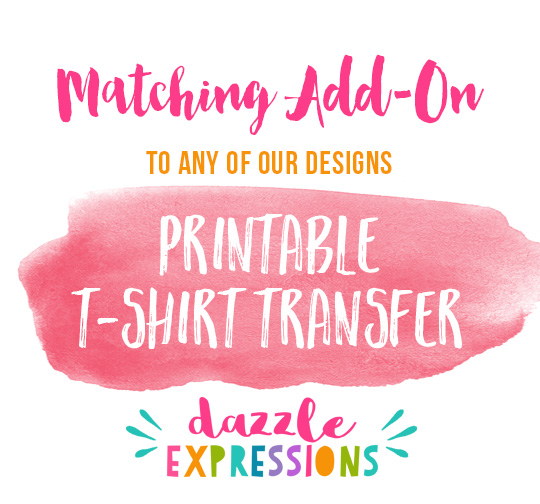 ADD ON T-Shirt Transfer - Printable