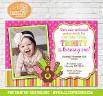 Turkey Birthday Invitation 1 - FREE thank you card included