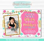 Twinkle Little Star Invitation 5 - FREE thank you card included