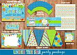 Under the Sea Complete Party Package 2 - DIY - PRINTABLE