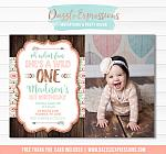 Wild One Invitation 9 - FREE thank you card