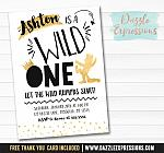 Where the Wild Things Are Inspired Invitation 1 - FREE thank you card